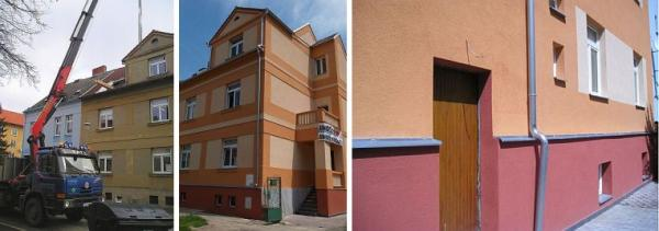 Foto: ČESKÉSTAVBY.cz, budov před a po zateplení