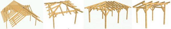 Foto: GOBEN, krov s vikýři, altán, garážové stání a pergola