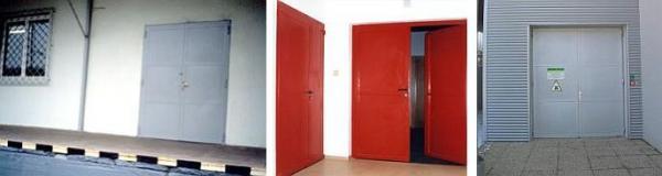Foto: JH CB, ocelová vrata