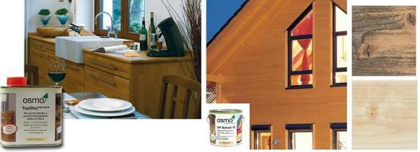 Foto: OSMOCOLOR, TOP olej a UV ochranný olej bezbarvý