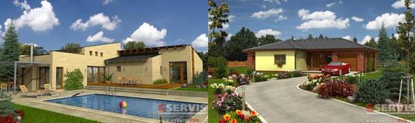 Obr: G SERVIS CZ, bungalovy Akropolis a Luna 1