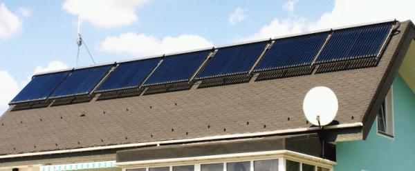 Foto: www.aaasolar.cz, solární kolektory - sezónní provoz