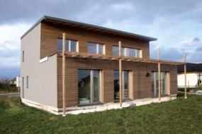 Foto: První Multi-komfortní dům vČR (Srch u Pardubic, Atelier L)