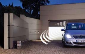 Foto: Hörmann, sekční garážová vrata RenoMatic 75
