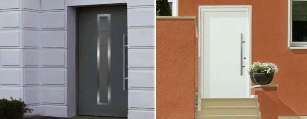 Foto: Hörmann, domovní dveře RenoDoor 75 a RenoDoor 75 Light