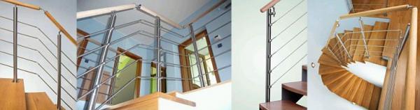 Ukázky designových schodišťovách zábradlí JAP (www.zabradli-jap.cz)
