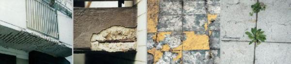 Foto: Remmers, poškozené balkony