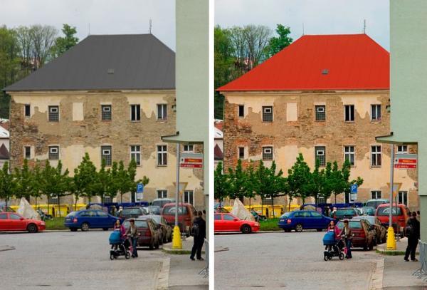Foto: Lindab, vizualizace nové střechy