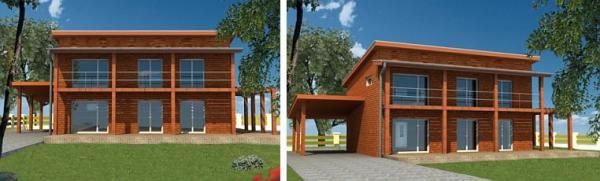 Obr: CZECH PAN, vizualizace domu Quercus