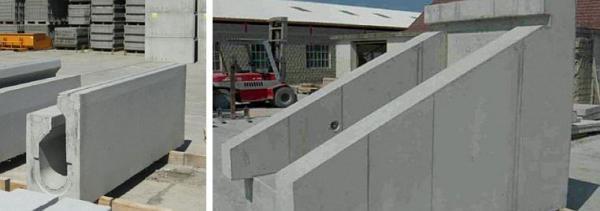 Foto: Capro, betonové monolity vyrobené s použitím makrovláken