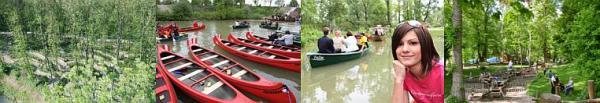 Foto: www.diegartentulln.at, stezka v lužním lese, vodní sporty a dětský areál