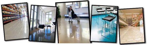 Foto: www.htc-twister.com, různé typy vyčištěných podlah