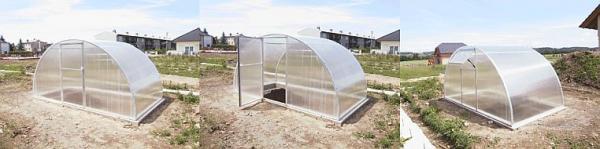 Foto: KL TRADING, realizace skleníku - otevírání a větrání