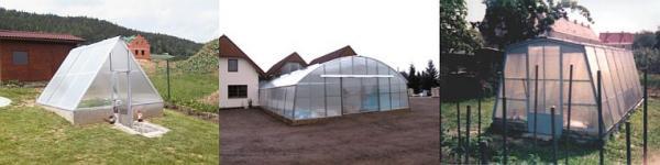 Foto: KL TRADING, realizace skleníků