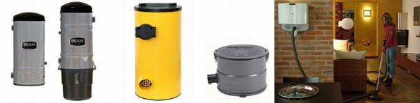 Foto: BEAM Electrolux, vysavače Mundo, Micro (nejmenší), Picolo a Oxy 3 (nástěnné)