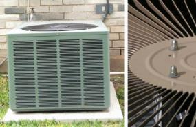Ilustrační foto (www.shutterstock.com), venkovní jednotka tepelného čerpadla vzduch/voda