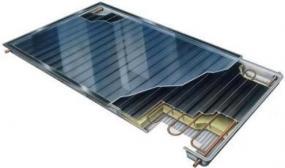 Obr: www.sany.cz, termický solární kolektor Water SANY Star
