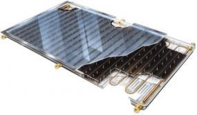 Obr: www.sany.cz, deskový vakuový solární kolektor Water SANY Star