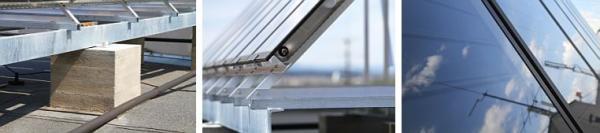 Foto: ZITO, nosná konstrukce solárních panelů