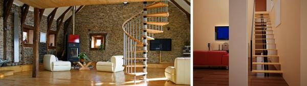 Ilustrační foto (www.shutterstock.com), typy schodišť