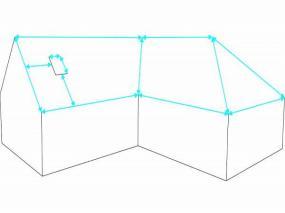 Obr: Lindab, nákres zaměření střechy