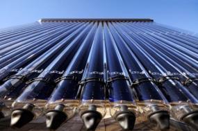 Ilustrační foto (www.shutterstock.com), obnažené trubice solárního kolektoru