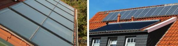 Ilustrační foto (www.shutterstock.com), solární kolektory versus fotovoltaika