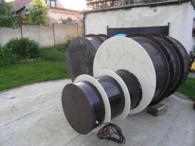 Foto: RD Rýmařov, akumulační nádoba domovní ČOV