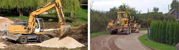 Ilustrační foto (www.shutterstock.com), výstavba silnice