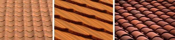 Ilustrační foto (www.shutterstock.com), různé typy pálené krytiny