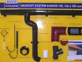Foto: Klepro, plastový okapový systém