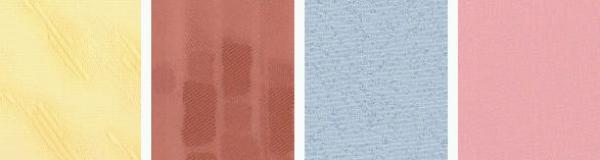 Foto: STÍN, látky pro textilní roletky Madeira, Rembrandt, Isabela a Stella