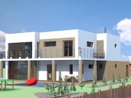 Vítězný návrh RD Luďka Špačka ze Střední školy stavební Třebíč