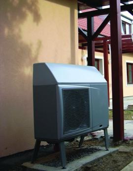 Foto: Regulus, tepelné čerpadlo vzduch - voda