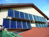Foto: Regulus, sluneční kolektory
