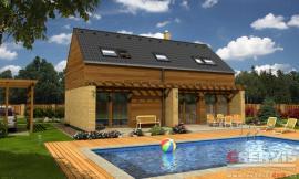 Obr: G SERVIS CZ, projekt typového rodinného domu Zeta
