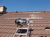 Foto: Regulus, Kolektory se na střechu dostanou pomocí speciálního výtahu.