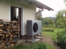 Foto: Regulus, správně umístěná venkovní jednotka tepelného čerpadla