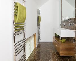 Ilustrační foto (www.shutterstock.com), žebříková koupelnová topidla