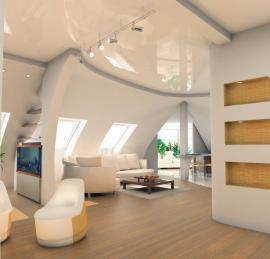 Ilustrační foto (www.shutterstock.com), Kouzlo šikmých stěn a stropních podhledů. Troufněte si na oblouky.