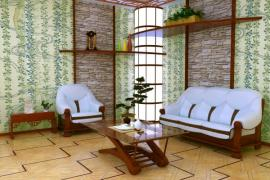 Ilustrační foto (www.shutterstock.com), Velký prostor v japonském stylu? Proč ne, složitější detaily zatraktivní jinak nudné velké plochy.