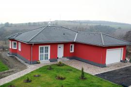 Typový dům Jana ze skořepinových betonových tvárnic