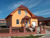 Typový dům Uno ze skořepinových betonových tvárnic