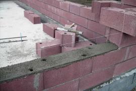 Konstrukce z betonových skořepinových tvárnic