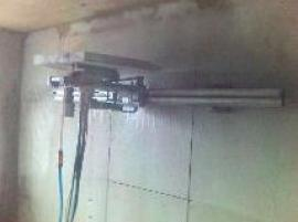 Foto: ZASTASPO, stěnová pila na vodící liště