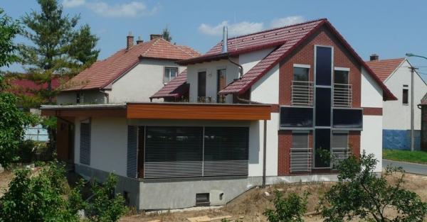 Pasivní rodinný dům Dubňany