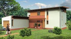 Obr: Wienerberger, typový rodinný dům TITAN
