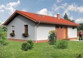 Obr: Wienerberger, typový rodinný dům NEPTUN