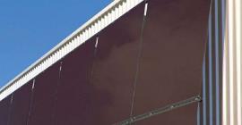 Foto: www.schueco.com, předsazená fasáda produkující energii