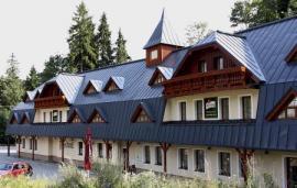 Foto: Lindab, fasáda stavby v Bedřichově